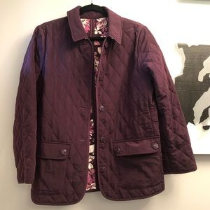 Susan Graver Medium reversible jacket- NWOT